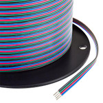 20 AWG Four Conductor RGB Power Wire