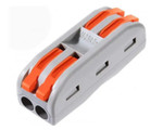 Compact 2 Wires  Conductor Connector