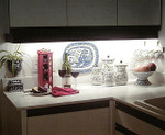 Water Resistant Kitchen Cupboard, Splashback or Bathroom LED Light D.I.Y Kit White