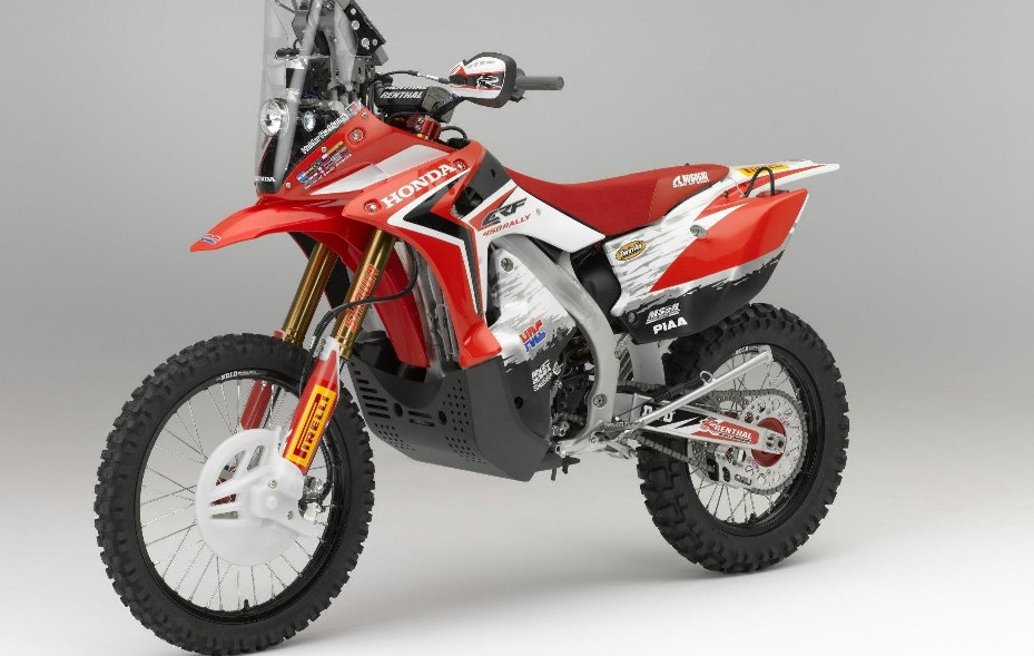 Honda Rally on Baja Designs Dual Sport Kit