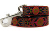 Venice dog leash - by Diva-Dog.com in Ink