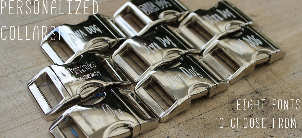 personalized buckles