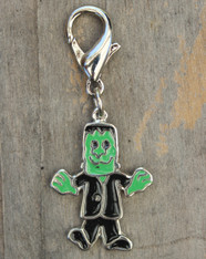 Frankenstein collar Charm - by Diva-Dog.com