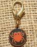 Spider Disc dog collar charm - by Diva-Dog.com