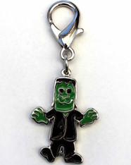 Frankenstein collar charm