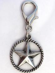 Cowboy Star Collar Charm - by Diva-Dog.com
