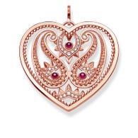 Paisley Heart Pendant (TPE727RER)