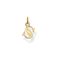 """S"" Pendant (TPE606Y)"