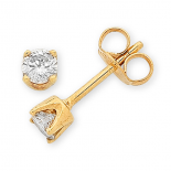 Diamond Stud Earrings (M443)