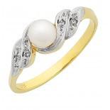 Pearl & Diamond Ring (M2833)