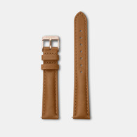 CLUSE Minuit Caramel/Rose Gold Watch Strap (CLS303)