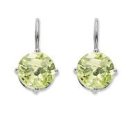 Green Quartz Earrings (TH1839GQ)