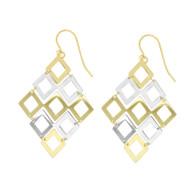 Diamond Shape Earrings (14-2023)