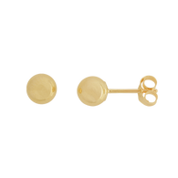 5mm Round Ball Stud Earrings (14-1989)