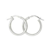 Polished Hoop Earrings (14-2011)