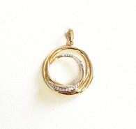 Diamond Circular Pendant (6-397)