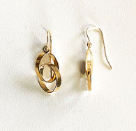 Oval Drop Earrings (14-2044)