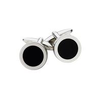 Black Onyx Cufflinks (27-438)