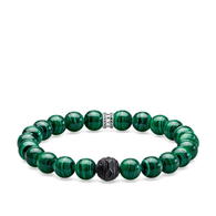 Black & Jungle Green Bracelet (23-2009)