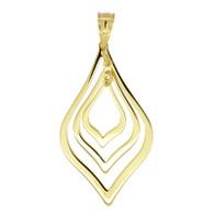 Gold Pendant (8-227)