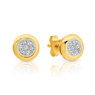 Diamond Stud Earrings (12-598)