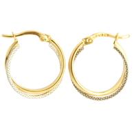 Double Hoop Earrings (14-2059)