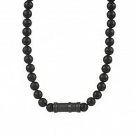 Agate Stone Necklace (27-1002)