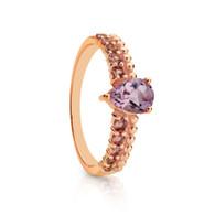 Amethyst & Pink Tourmaline Ring (2-1941)