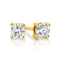 Diamond Stud Earrings (12-580)