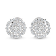 Fancy CZ Earrings (24-1868)