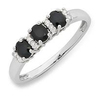 Sapphire & Diamond Ring (2-1926)