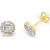 Diamond Earrings (12-593)