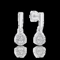 Diamond Earrings (12-595)