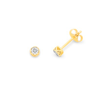 Diamond Earrings (12-594)