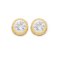 Cubic Zirconia Earrings (13-77)