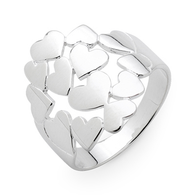Mass of Hearts Ring (21-984)