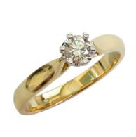 0.30ct Diamond Solitaire Ring (1-326)