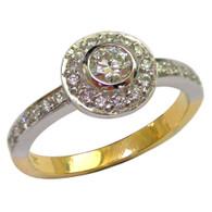 18ct Diamond Ring (1-1817)