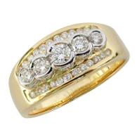 18ct Diamond Ring (1-1866)