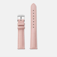CLUSE Minuit Pink/Silver Watch Strap