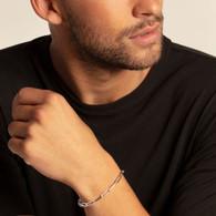Long link bracelet (17cm)