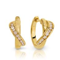 Dreamtime 9ct Ribbon earrings