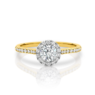 0.80ct of Diamonds in 18ct Gold