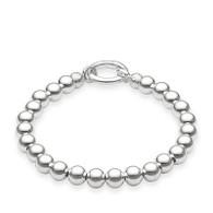 Thomas Sabo Sterling Silver Ball Bracelet (18.5cm)