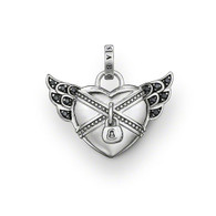 Thomas Sabo Rebel at Heart chained heart pendant