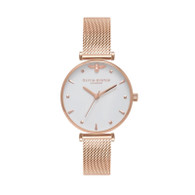Olivia Burton Queen Bee Rose Gold Watch