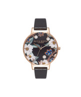 Olivia Burton Bejewelled Rose Gold Watch