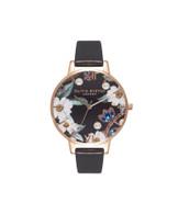 Olivia Burton Bejewelled Rose Gold Watch