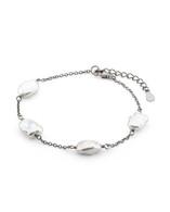 Keshi 8-9mm Pearl Chain Bracelet