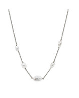 Keshi 8-10mm Pearl Chain Necklace